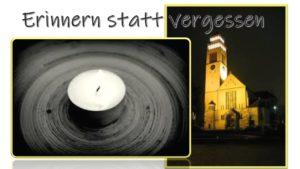 Erinnern statt vergessen @ St Johannes Nepomuk Kirche | Kehl | Baden-Württemberg | Deutschland