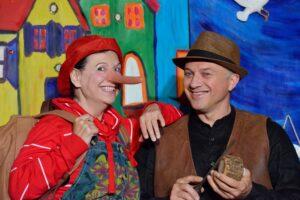"""""""Pinocchio, ein Prachtkerl"""" nach Collodi von Erpho Bell @ Alte Rösterei"""