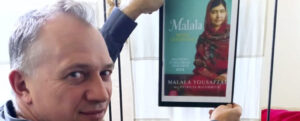 Malala - Mädchen mit Buch @ Alte Rösterei